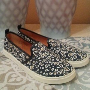 H & M Leopard Print Loafers